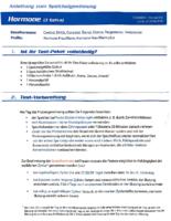 Anleitung Hormonprofil Mann im Speichel